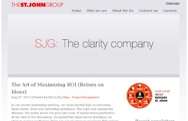 http://www.sjohn.com/2010/08/27/the-art-of-maximizing-roi-returns-on-ideas/