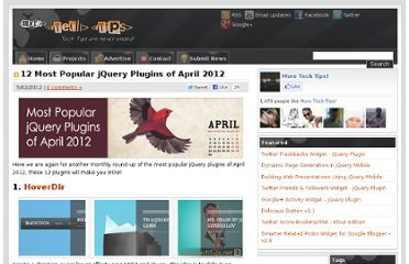 http://www.moretechtips.net/2012/05/12-most-popular-jquery-plugins-of-april.html