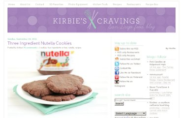 http://kirbiecravings.com/2011/09/three-ingredient-nutella-cookies.html