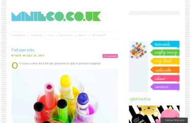http://www.minieco.co.uk/felt-pen-inks/