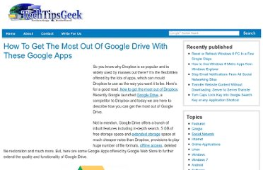 http://www.techtipsgeek.com/how-to-get-the-most-out-of-google-drive-with-google-apps/15490/