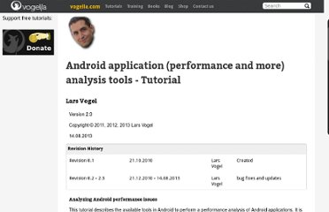 http://www.vogella.com/articles/AndroidPerformance/article.html