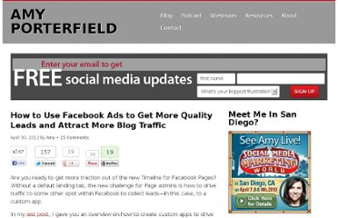 http://www.amyporterfield.com/2012/04/how-to-use-facebook-ads-to-get-more-quality-leads-and-attract-more-blog-traffic/