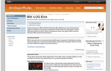 https://www.ibm.com/developerworks/websphere/zones/visualization/demos/elixir.html