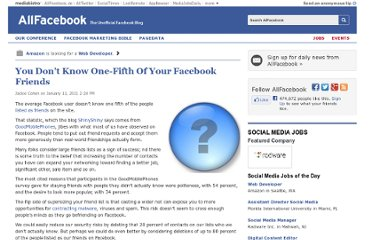 http://allfacebook.com/you-dont-know-one-fifth-of-your-facebook-friends_b29149