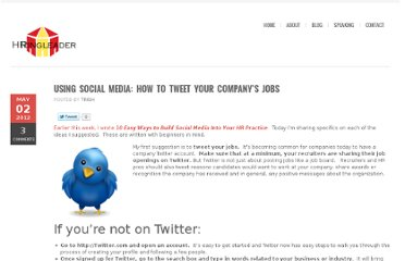 http://hrringleader.com/2012/05/02/using-social-media-how-to-tweet-your-companys-jobs/