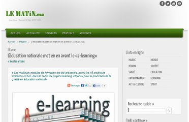 http://www.lematin.ma/journal/Ifrane_L-education-nationale-met-en-en-avant-le-e-learning-/165986.html