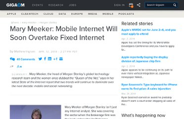 http://gigaom.com/2010/04/12/mary-meeker-mobile-internet-will-soon-overtake-fixed-internet/