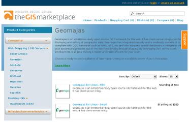 https://www.thegismarketplace.com/category/99/Geomajas