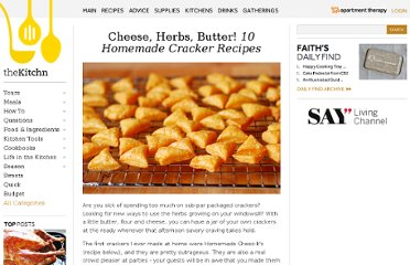 http://www.thekitchn.com/cheese-herbs-butter-10-homemade-cracker-recipes-170269