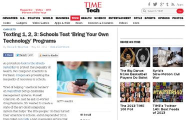 http://techland.time.com/2012/05/02/texting-1-2-3-schools-test-bring-your-own-technology-programs/