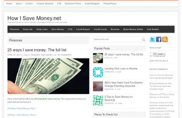 http://howisavemoney.net/finances/25-ways-i-save-money-the-full-list/