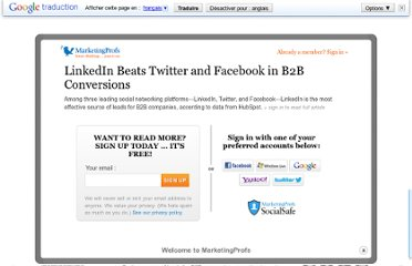 http://www.marketingprofs.com/charts/2012/7803/linkedin-beats-twitter-and-facebook-in-b2b-conversions