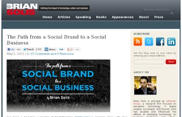 http://www.briansolis.com/2012/05/the-path-from-a-social-brand-to-a-social-business/