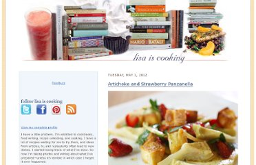 http://lisaiscooking.blogspot.com/2012/05/artichoke-and-strawberry-panzanella.html