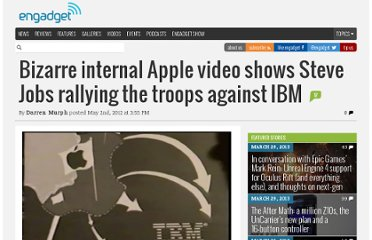 http://www.engadget.com/2012/05/02/bizarre-internal-apple-video-shows-steve-jobs-rallying-the-troop/
