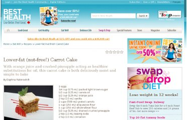http://www.besthealthmag.ca/eat-well/recipes/lowe-fat-nut-free-carrot-cake
