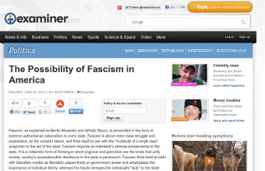 http://www.examiner.com/article/the-possibility-of-fascism-america