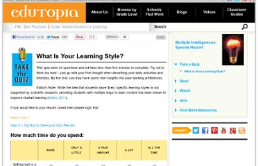http://www.edutopia.org/multiple-intelligences-learning-styles-quiz