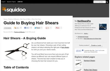 http://www.squidoo.com/guide-to-buying-hair-shears