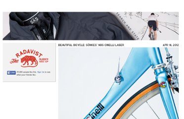 http://prollyisnotprobably.com/2012/04/beautiful-bicycle-sonkes-nos-cinelli-laser/#more-44458