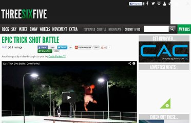 http://threesixfive.tv/epic-trick-shot-battle/