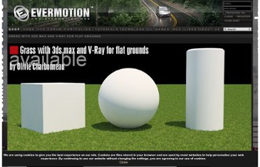 http://www.evermotion.org/tutorials/show/7946/grass-with-3ds-max-and-v-ray-for-flat-grounds