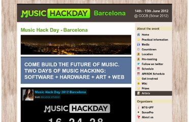 http://bcn.musichackday.org/2012/index.php?page=Main+page