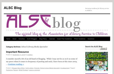 http://www.alsc.ala.org/blog/category/school-library/