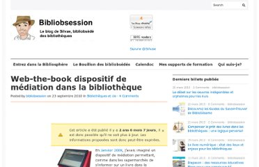 http://www.bibliobsession.net/2010/09/23/web-the-book-dispositif-de-mediation-dans-la-bibliotheque-2/