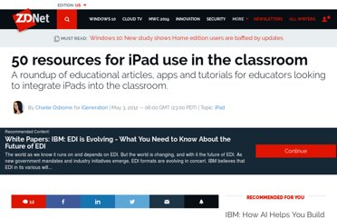 http://www.zdnet.com/blog/igeneration/50-resources-for-ipad-use-in-the-classroom/16126