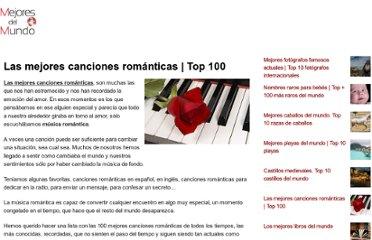 100 mejores canciones romanticas: