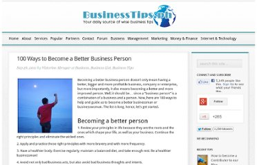 http://businesstips.ph/100-ways-to-become-a-better-business-person/