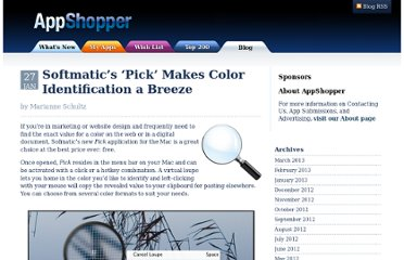 http://appshopper.com/blog/2012/01/27/softmatics-pick-makes-color-identification-a-breeze/