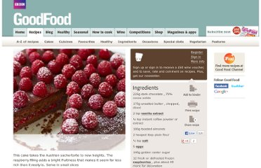 http://www.bbcgoodfood.com/recipes/1299662/raspberry-chocolate-torte