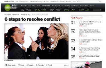 http://www.cbsnews.com/8301-505125_162-57424513/6-steps-to-resolve-conflict/