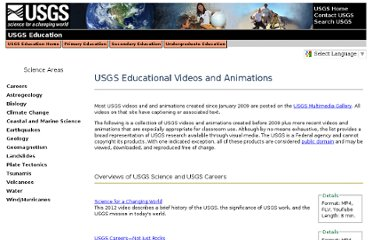 http://education.usgs.gov/common/video_animation.htm