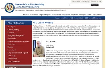 http://www.ncd.gov/council_and_staff/ncd_council_members