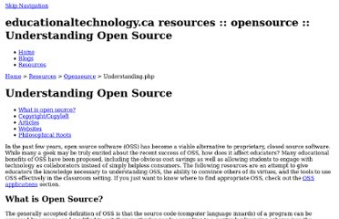http://www.educationaltechnology.ca/resources/opensource/understanding.php