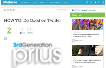 http://mashable.com/2009/09/01/how-to-do-good-on-twitter/