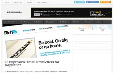http://brunomoura.net/blog/26-impressive-email-newsletters-for-inspiration/