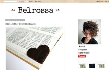 http://belrossa.blogspot.com/2012/04/diy-leather-heart-bookmark.html