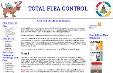 http://www.all-pets-info.com/fleacontrol/Get-rid-of-fleas-in-house.html