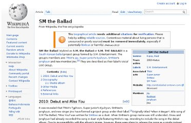 http://en.wikipedia.org/wiki/SM_the_Ballad