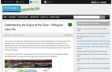 http://resources.infosecinstitute.com/china-philippine-cyber-war/