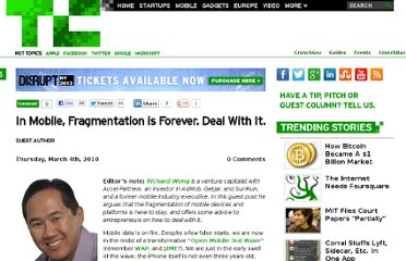 http://techcrunch.com/2010/03/04/mobile-fragmentation-forever/