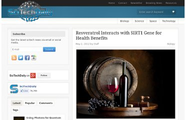 http://scitechdaily.com/resveratrol-interacts-with-sirt1-gene-for-health-benefits/