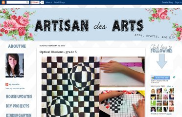 http://artisandesarts.blogspot.com/2012/02/optical-illusions-grade-5.html