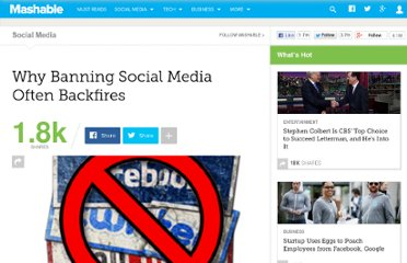 http://mashable.com/2010/04/13/social-media-ban-backfire/