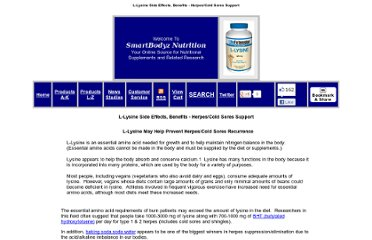 http://www.smartbodyz.com/L-lysine(700mg)effects-amino-acid-vitamins-supplements-benefits-Dose.htm
